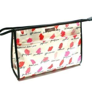 Kate Spade Large Heddy Cosmetic Bag